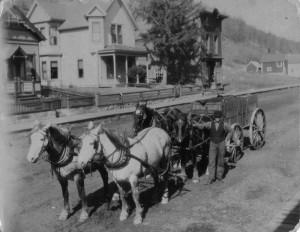Bench Street, Taylors Falls, 1904